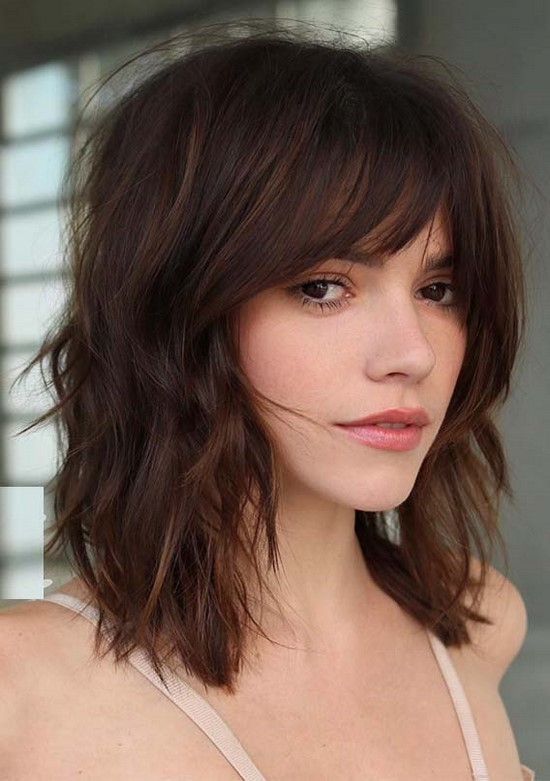 46 Ideas for Haircuts With Bangs You'll Want to Copy