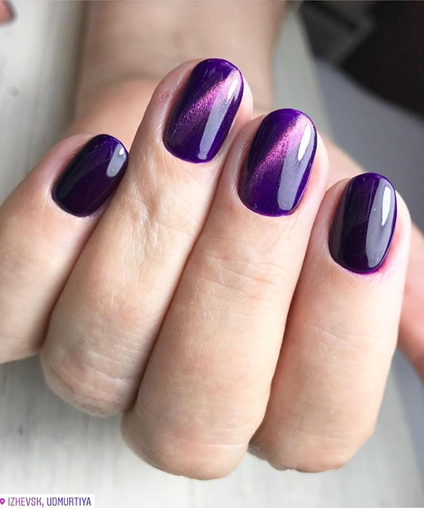 Purple Christmas Nail Art Designs Ideas For Winter Page 2 Of 96