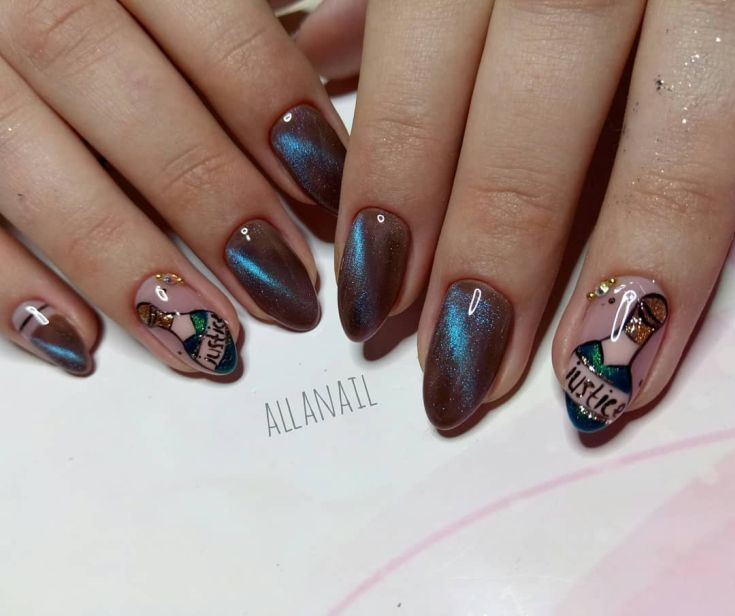 New Year's Nails Design Ideas 2019