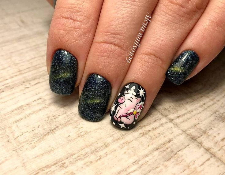 New Year S Nails Design Ideas 2019 Page 58 Of 63 Soflyme