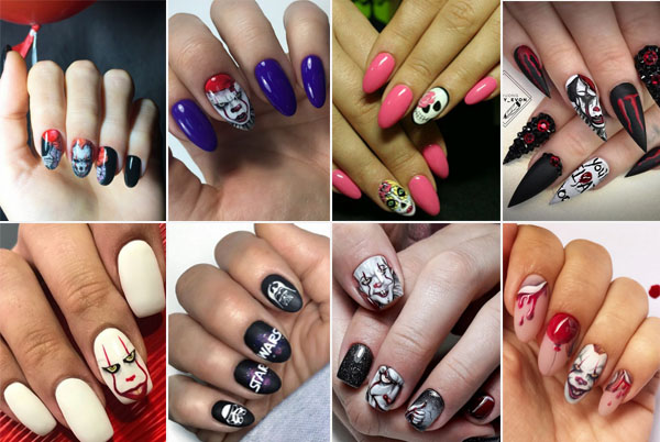 Halloween Nails Design Archives Soflyme